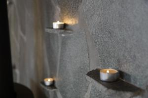 A bathroom at Nyken Resort - The apartment