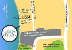 Coriacea Boutique Resort - SHA Plus с высоты птичьего полета
