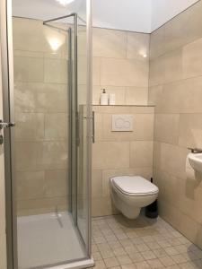 A bathroom at Bed & Brockhof Meerbusch
