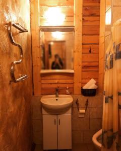 Ванная комната в Гостевой дом Альпхаус