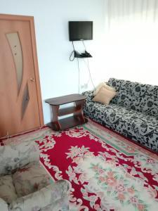Кровать или кровати в номере Гостевой дом Надежда