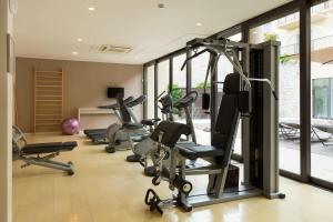 The fitness center and/or fitness facilities at Principe Di Lazise - Wellness Hotel & Spa