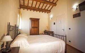 Letto o letti in una camera di Il Ristoro Del Viandante