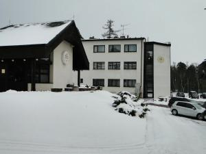 Hotel Astra during the winter