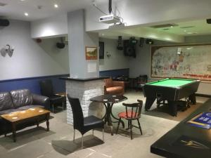 A pool table at The Loco