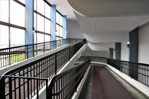 A balcony or terrace at Manacá Hotel