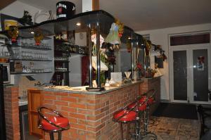 Lounge alebo bar v ubytovaní Hostinec Škulec - Ubytovanie