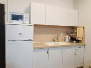 Кухня или мини-кухня в Rothschild Apartments