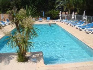 The swimming pool at or near Calvi Residence