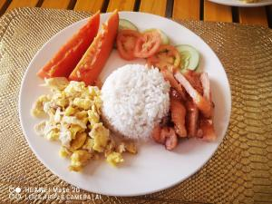 Food at or somewhere near the homestay
