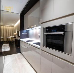 A kitchen or kitchenette at PH Suites at Pavilion Bukit Bintang