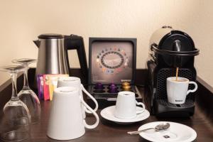 Kaffee-/Teezubehör in der Unterkunft Hotel Victoria