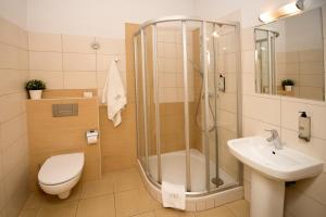 Łazienka w obiekcie Red Brick Apartments