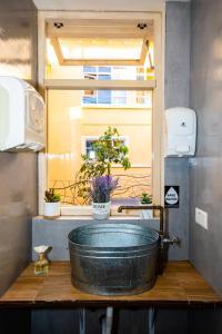 A bathroom at The Secret Garden