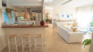The lobby or reception area at Casas Brancas Boutique Hotel & Spa
