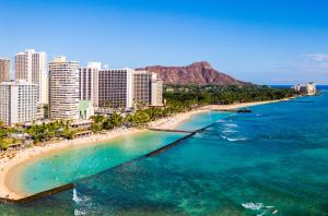 A bird's-eye view of Waikiki Monarch Hotel