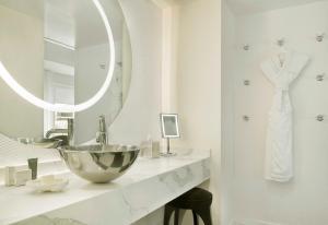 A bathroom at Mondrian Los Angeles in West Hollywood