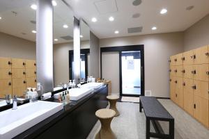 A bathroom at Almont Hotel Naha Kenchomae