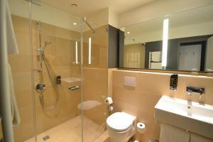 Ein Badezimmer in der Unterkunft Bildungs- und Tagungshaus Liborianum