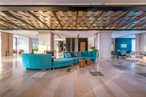Vstupní hala nebo recepce v ubytování Mitsis Rodos Village Beach Hotel & Spa