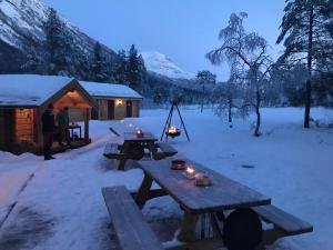Camp Dronningkrona om vinteren