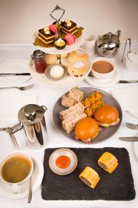 Breakfast options available to guests at Fishmore Hall Hotel and Boutique Spa
