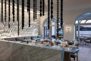 A restaurant or other place to eat at The Ritz-Carlton St. Thomas