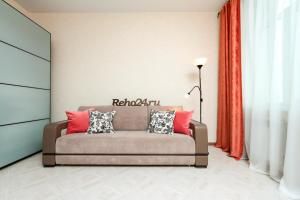 A seating area at Two Bedroom Apartments Premium Center - Двухкомнатная квартира Центр Премиум НОВАТ, 4 спальных места, RentHouse