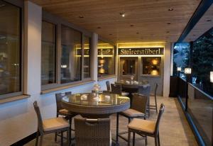 Restaurace v ubytování Sporthotel Royer