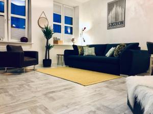 Część wypoczynkowa w obiekcie Mila Apartments Szczecin
