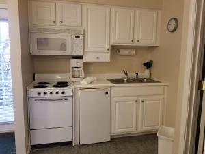 A kitchen or kitchenette at Palace View Resort by Spinnaker