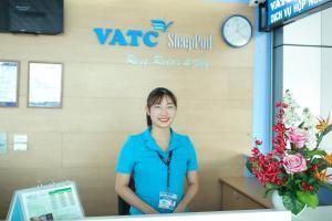 Khu vực sảnh/lễ tân tại VATC Sleep Pod Terminal 1
