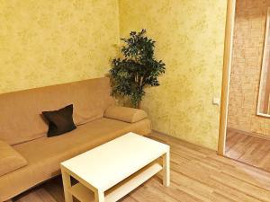 Гостиная зона в Apartment Hanaka Federativniy 43