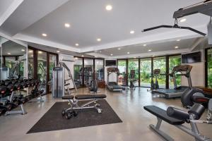 The fitness center and/or fitness facilities at Movenpick Resort & Spa Boracay