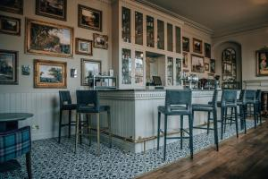 The lounge or bar area at Blackwell Grange Hotel