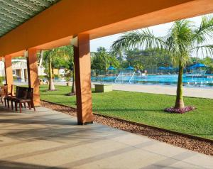 The swimming pool at or near Club Palm Bay