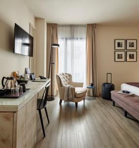 Posezení v ubytování Hotel Barcelona Catedral