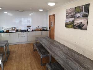 A kitchen or kitchenette at Portree Youth Hostel