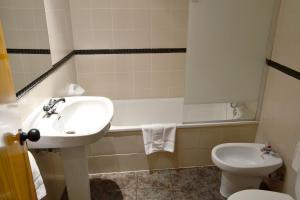 Un baño de Hotel Alda Pasaje