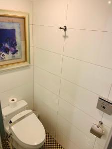 A bathroom at Taichung Charming City Hotel