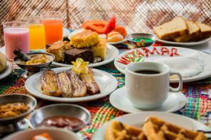 Breakfast options available to guests at Vistamar Hotel