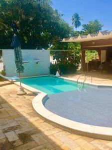 The swimming pool at or close to Pousada Praia da Barra