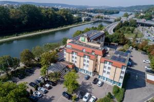 A bird's-eye view of Ibis Styles Regensburg