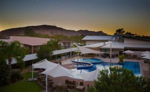 A view of the pool at Crowne Plaza Alice Springs Lasseters, an IHG Hotel or nearby