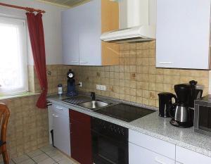 Küche/Küchenzeile in der Unterkunft Haus Ramona