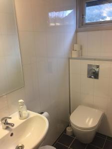 A bathroom at Kyrping Camping
