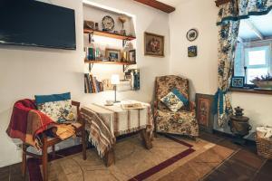 Гостиная зона в Surikov Guest House