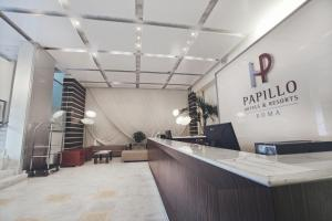 The lobby or reception area at Papillo Hotels & Resorts Roma