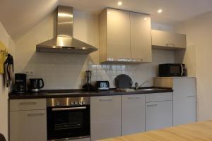 Küche/Küchenzeile in der Unterkunft Ferienhaus am Ruhberg