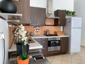 A kitchen or kitchenette at Corso Senatore Matarazzo 145 Departamento